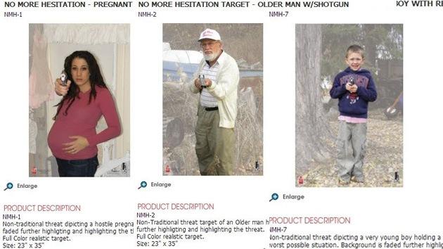 Imágenes de niños, ancianos y embarazadas, blancos de tiro para la Policía en EE.UU.