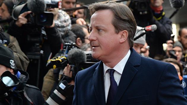 Cameron se opone a la creación de un ejército común europeo