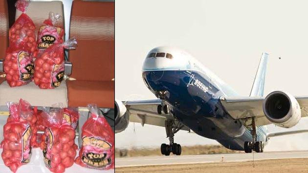 Video: Boeing prueba el wifi en sus aviones con sacos de patatas