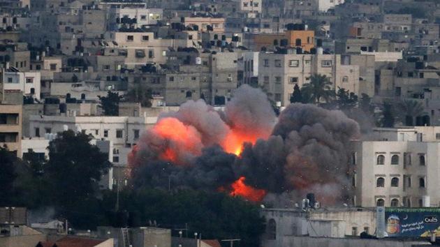 Dos cohetes caen cerca de Dimona, ciudad israelí que alberga una central nuclear