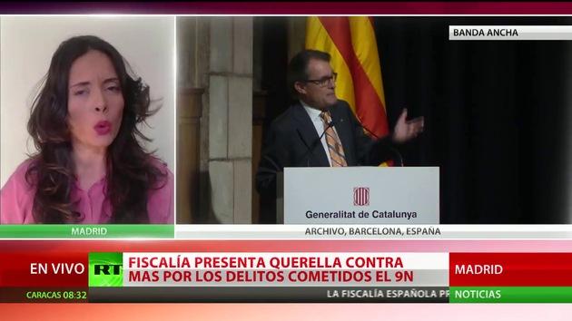 La Fiscalía presenta querellas contra Artur Mas por la consulta del 9N