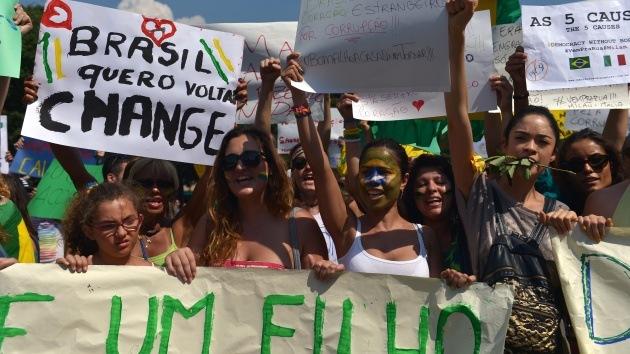 172 ciudades de Brasil se preparan para masivas protestas contra la corrupción