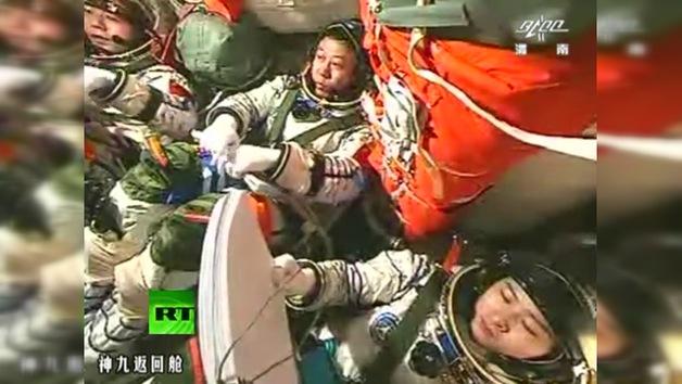 VIDEO: Primer acoplamiento manual de una nave espacial china