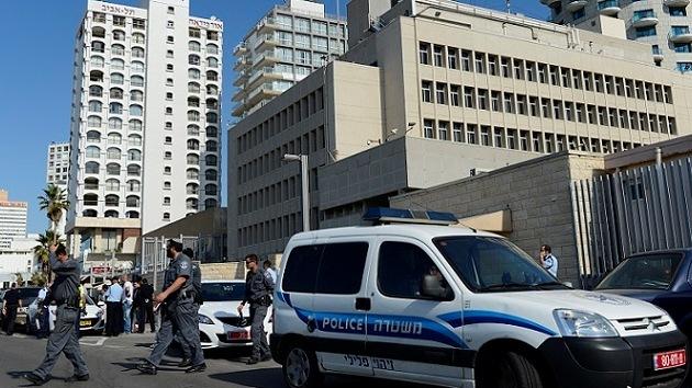 Israel analiza un paquete sospechoso hallado en la embajada de EE.UU.