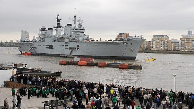 El Reino Unido gastará más de 250.000 millones dólares en armas hasta el período 2021-2022