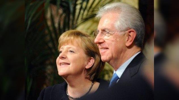 """Merkel y Monti: la fase """"más aguda"""" de la crisis terminó, debemos fomentar el crecimiento"""