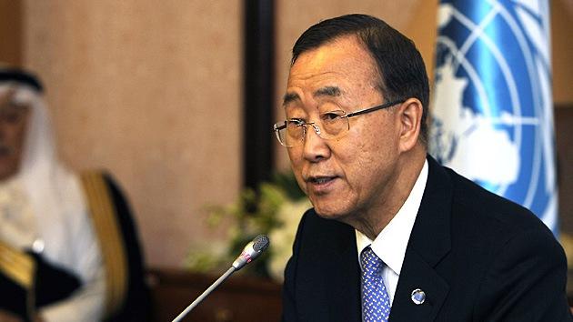 Ban Ki-moon: Guerra a gran escala es inminente en Siria