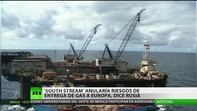 """Moscú: """"La UE no tiene el gas garantizado si renuncia al South Stream"""""""