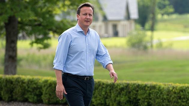 Cameron busca en el G8 un plan de cinco puntos sobre Siria, con o sin Rusia