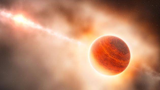 Los astrónomos fotografían el nacimiento de un planeta gigante