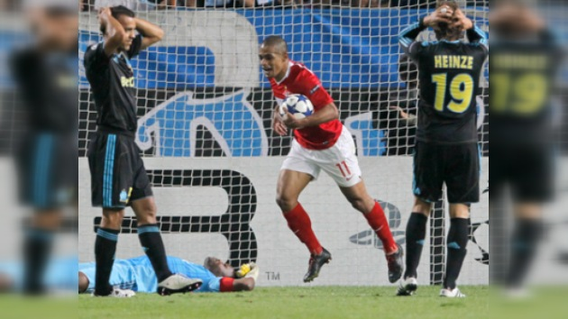 Spartak comienza la Liga de Campeones con un triunfo sobre el Marsella