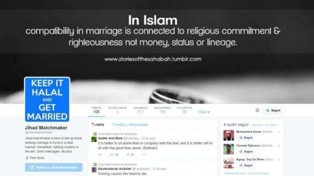 'Cupido yihad': Miembros del Estado Islámico irrumpen en Twitter en busca de esposas