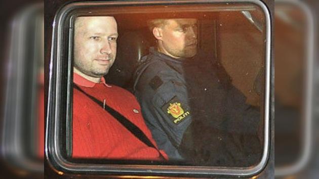 La próxima sesión del juicio contra Breivik, a puertas 'semiabiertas'
