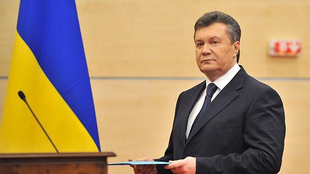 Yanukóvich: Kiev decidió su operación especial en el este tras encontrarse con el director de la CIA