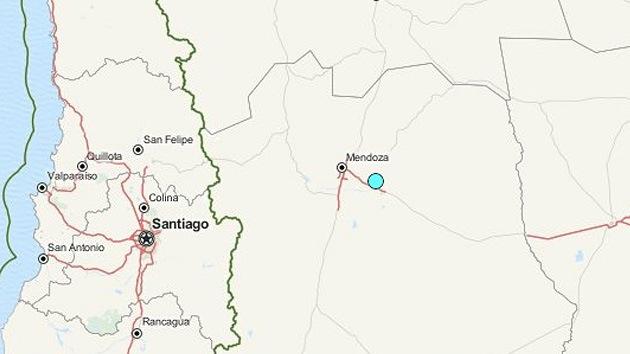 Un sismo de 5,4 grados sacude Argentina
