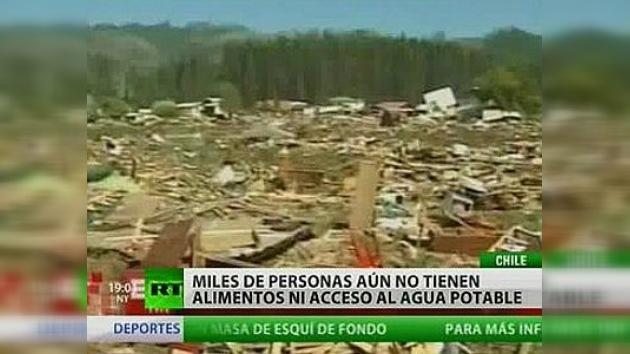 Sigue creciendo el número de víctimas del terremoto en Chile