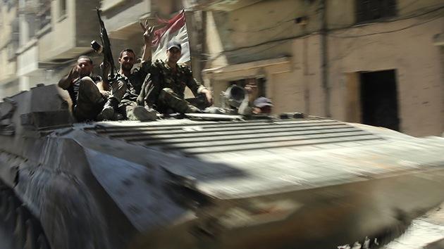 Siria: Caen 40 milicianos en enfrentamientos con el Ejército