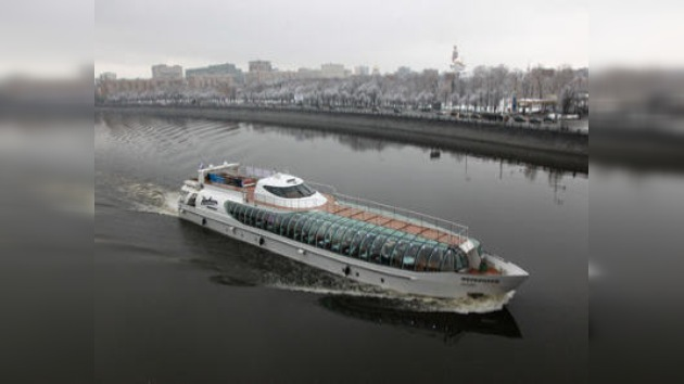 Yate rompehielos. El nuevo pasatiempo invernal moscovita