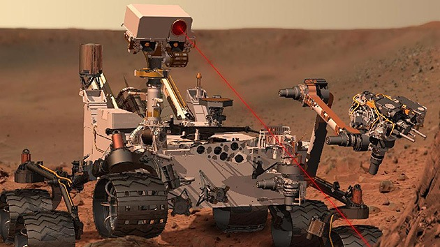 La NASA teme que el robot Curiosity 'contagie' Marte con bacterias