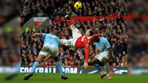 Golazo de Rooney es elegido como el mejor de la historia de la Premier League