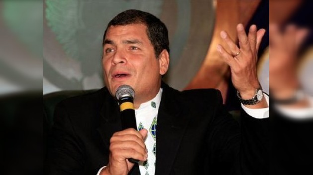 """Correa tacha de """"separatista"""" la movilización anunciada por los indígenas"""