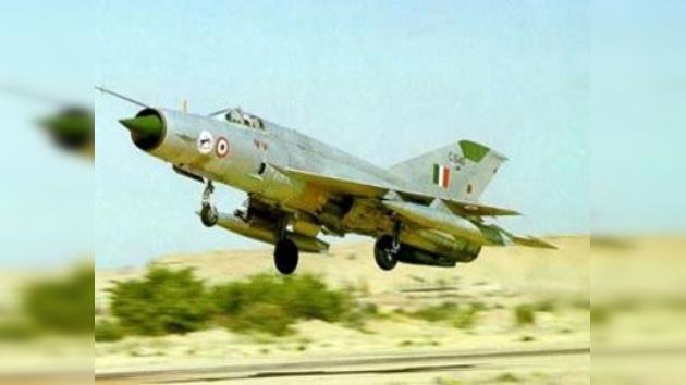 Se estrella otro avión MiG de la Fuerza Aérea de la India