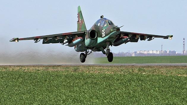 La nueva versión del avión ruso Su-25 aprenderá a contrarrestar a los Patriot