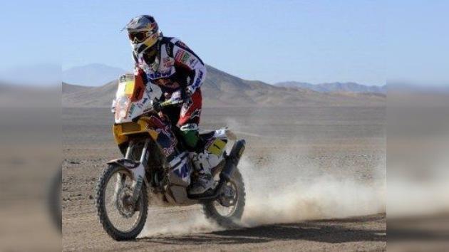 Octava etapa del Rally Dakar tuvo un claro acento español