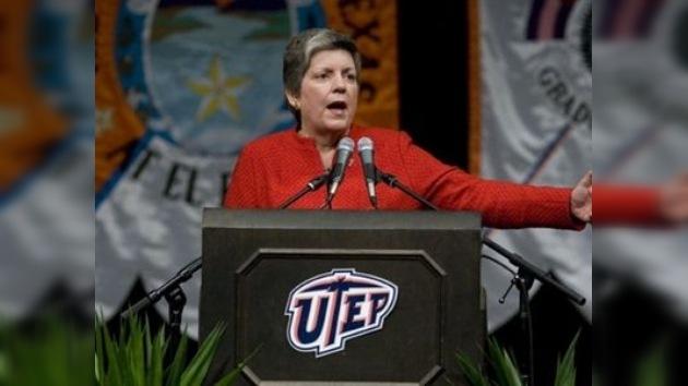 Napolitano amenaza con aplastar a los narcos que lleven violencia a EE. UU.
