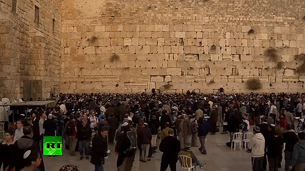 "Video: Miles de israelíes rezan para ""liberarse de John Kerry"""