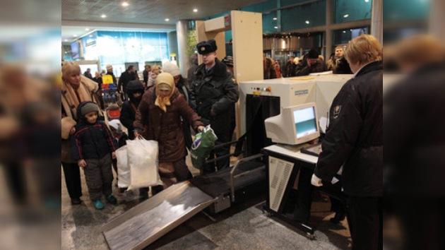 Intensificados los controles en los aeropuertos de Rusia tras el atentado