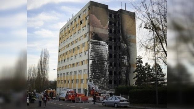 Al menos siete muertos y más de 100 heridos tras un incendio en Francia