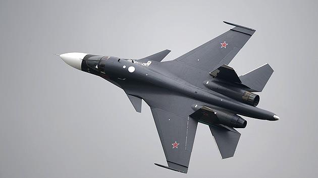 Cazas rusos Su-34 'conquistan' el Polo Norte