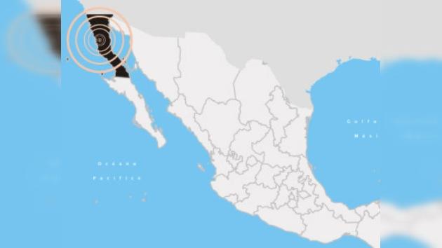 Terremoto de 7,2 Richter sacudió el norte de México