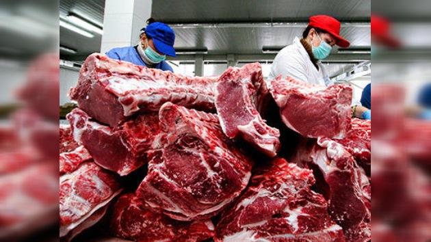 Desmantelan en Rusia una red de contrabando de carne sudamericana