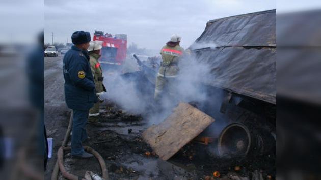 Seis muertos en un grave accidente de tráfico en Daguestán