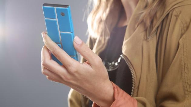Google fabrica un celular de bloques interconectables que costará 50 dólares