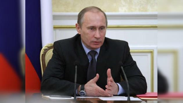 El premier ruso Vladímir Putin aprieta con el apoyo a la hipoteca