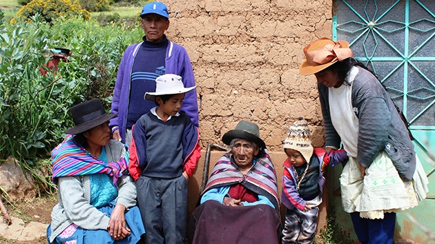 Conozcan el secreto de la longevidad de una peruana de 116 años