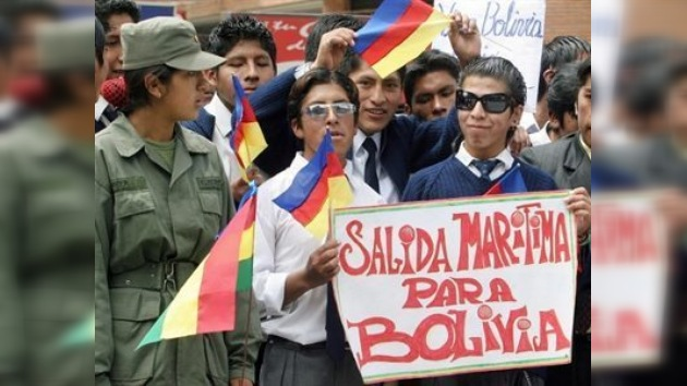 Gobierno de Morales ratifica demanda a Chile de salida al mar con soberanía