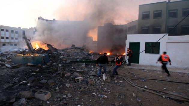 Las bombas de Israel dejan en Gaza un 'agujero' de 300 millones de dólares