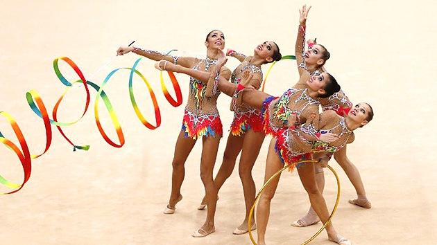 Londres 2012: oro para Rusia en gimnasia artística por equipos