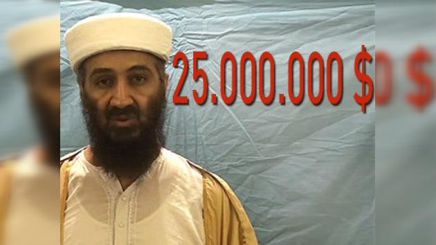 Nadie recibirá los 25 millones de recompensa por capturar a Bin Laden