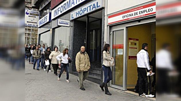 El desempleo en España bate nuevo récord