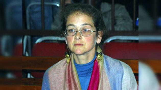 Juez otorga libertad condicional a la terrorista detenida con Lori Berenson