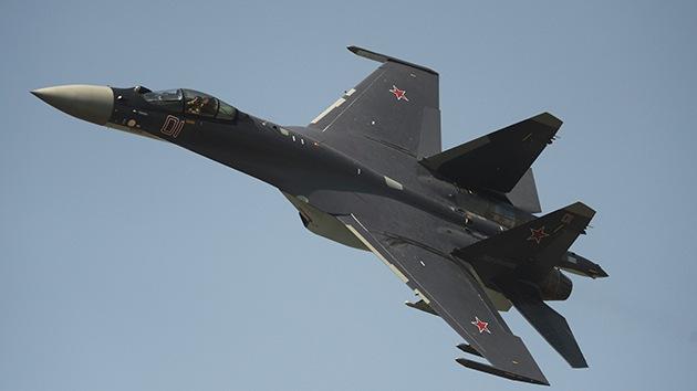 """Experto: """"El moderno caza ruso Su-35 representa un desafío para EE.UU."""""""
