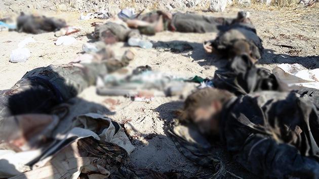 Siria denuncia la matanza de más de 100 civiles por terroristas al norte de Damasco