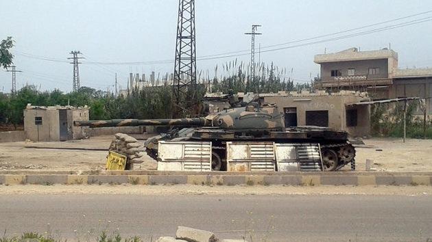 El Ejército sirio descubre una remesa clandestina de gas sarín