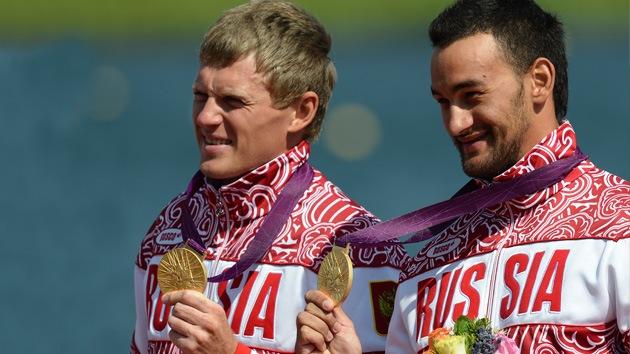 Londres 2012: pareja rusa se cuelga el oro en la categoría de K2 200 metros