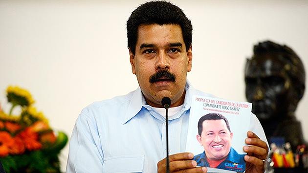"Maduro tacha un audio con la voz de Chávez de vil montaje de ""la derecha fascista"""
